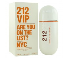 Carolina Herrera 212 Vip Are You On The List? Nyc Pour Femme, edp., 80 ml