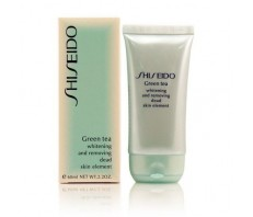 Скраб Shiseido Green Tea Whitening And Removing Dead Skin Element