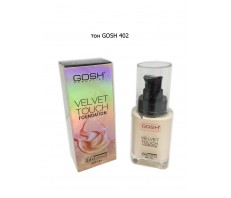 Тональный крем Velvet Touch Foundation Gosh 402, 34 ml