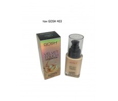 Тональный Крем Velvet Touch Foundation Gosh 403
