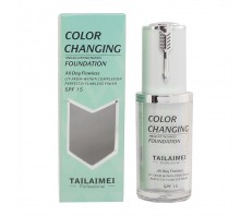 Тональная Основа Tailaimei Color Changing Green (проявляющийся), 40ml